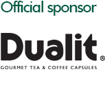 Official sponsor. Dualit