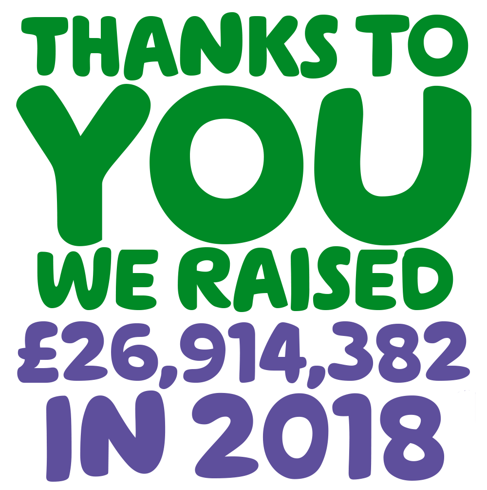 Thanks to you we raised £26,914,382