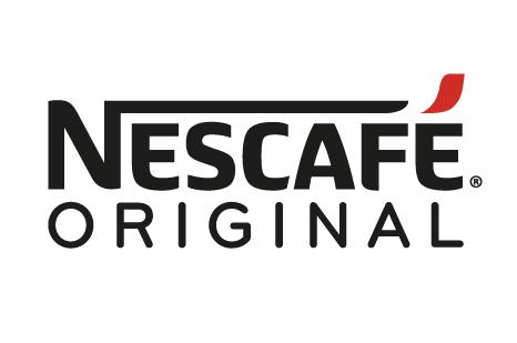Logo reads: 'Nescafe Original' in black font on a white background.