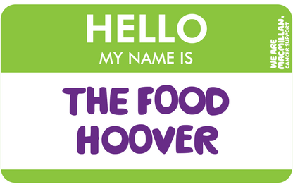 Hello, my name is The Food Hoover