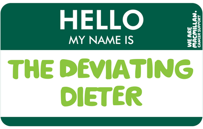 Hello, my name is The Deviating Dieter
