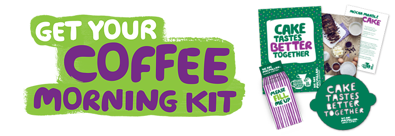 Get your coffee morning kit