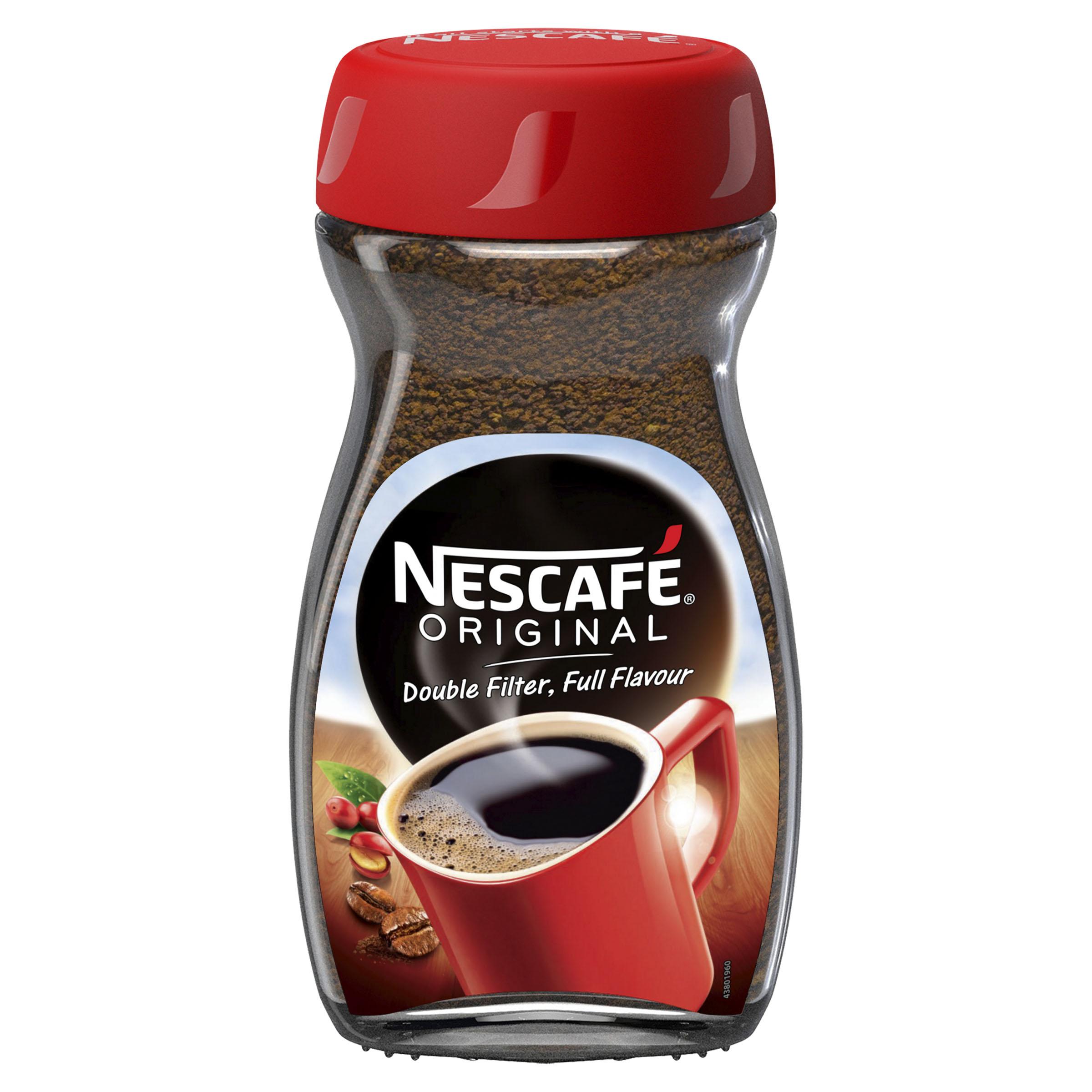 Jar of NESCAFÉ coffee