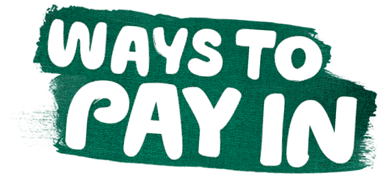 Ways to pay in