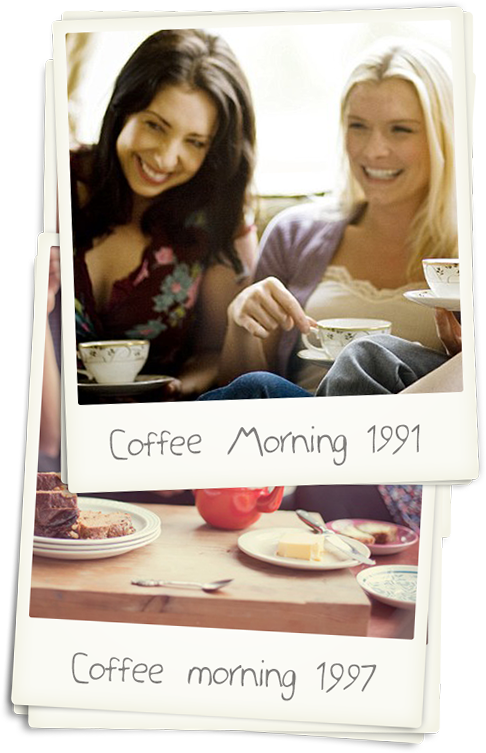 Coffee morning 1991 - 1997
